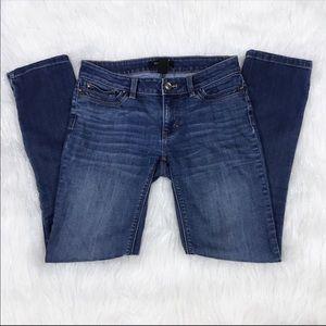 WHBM Medium Wash Feel Beautiful Slim Leg Jeans 00R